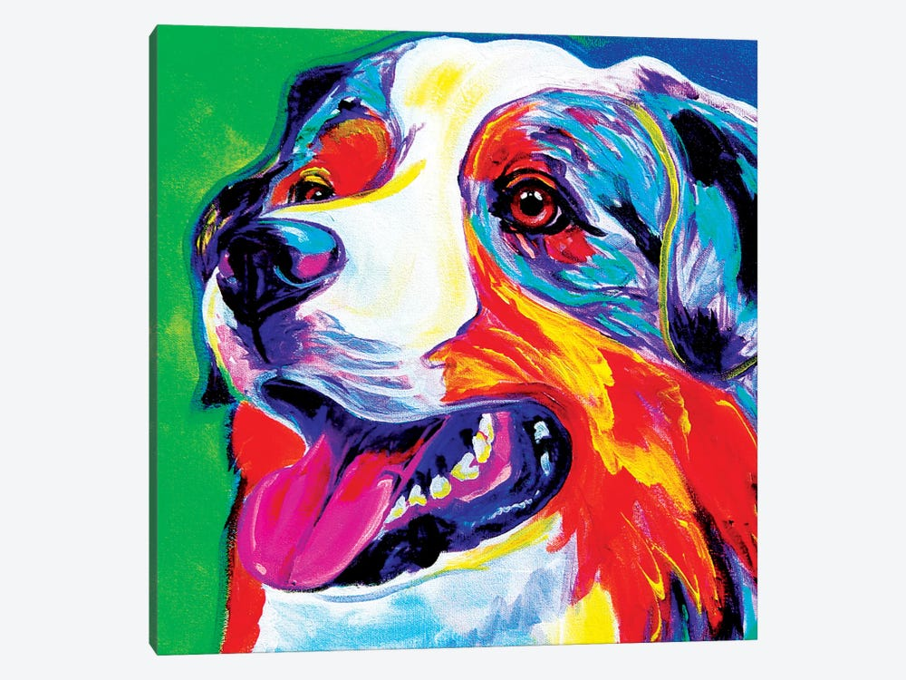 Aussie by DawgArt 1-piece Canvas Art