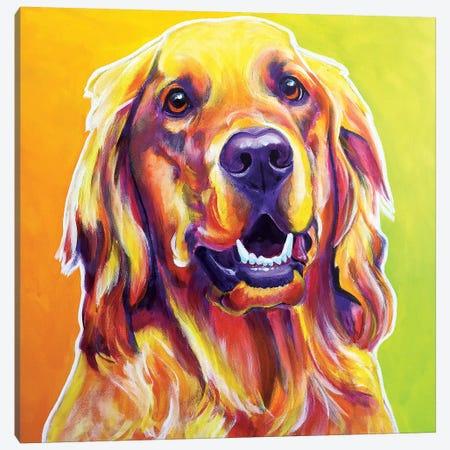 Jasper Canvas Print #DWG72} by DawgArt Canvas Art Print