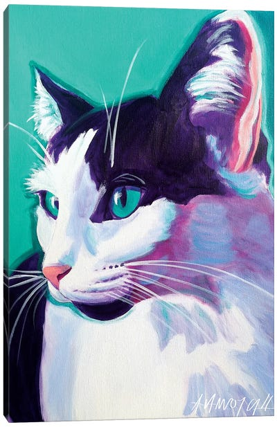 Kitty Canvas Art Print