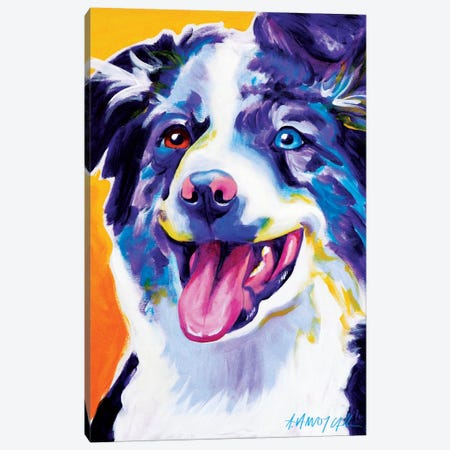 Aussie III Canvas Print #DWG7} by DawgArt Art Print
