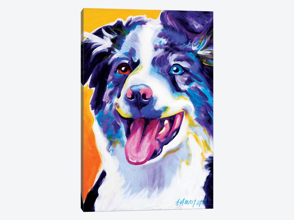 Aussie III by DawgArt 1-piece Canvas Art Print