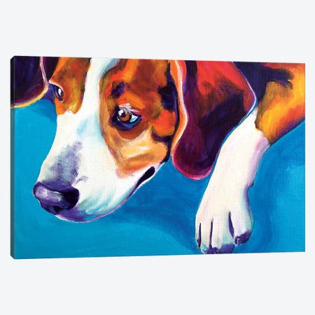 Lambeau Canvas Print #DWG82} by DawgArt Canvas Art