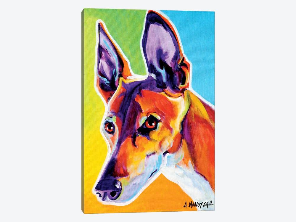 Linus The Pharoah Hound by DawgArt 1-piece Canvas Artwork