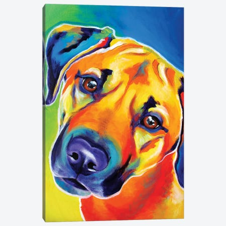 Lulu Canvas Print #DWG90} by DawgArt Art Print
