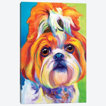 Mochi Canvas Print #DWG97} by DawgArt Canvas Artwork