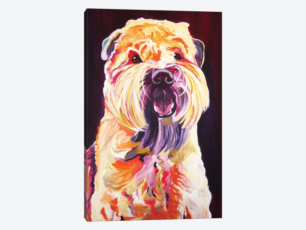 Bailey Boy by DawgArt 1-piece Canvas Print
