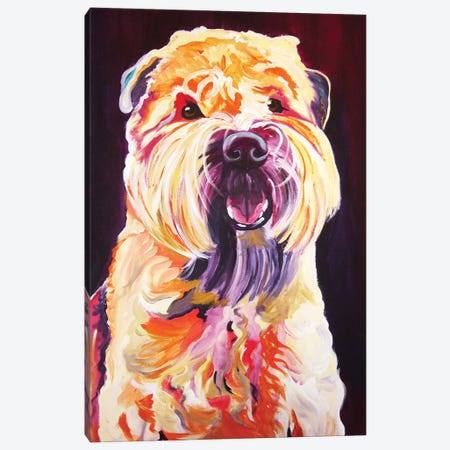 Bailey Boy Canvas Print #DWG9} by DawgArt Canvas Art