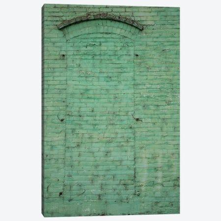 USA, Washington State, Palouse. Painted brick in historic building. Canvas Print #DWI1} by Deborah Winchester Canvas Artwork