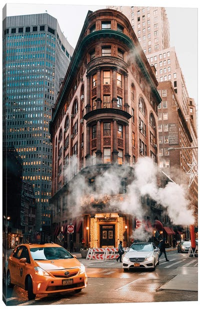 A Classic New York Moment Canvas Art Print