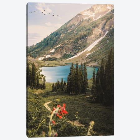 Emerald Lake, Colorado Canvas Print #DWK31} by Dylan Walker Canvas Print