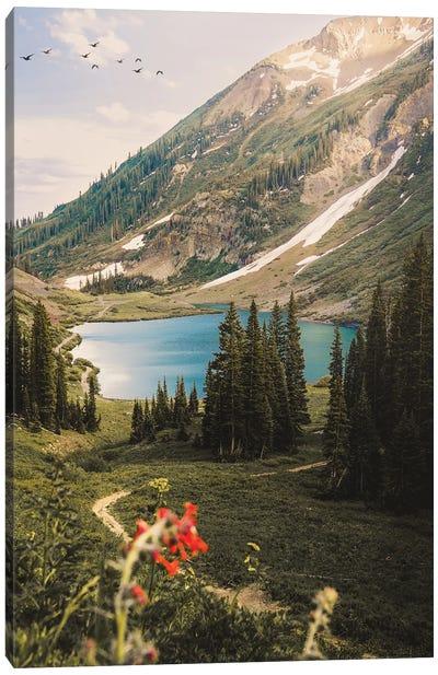 Emerald Lake, Colorado Canvas Art Print