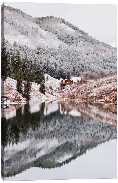 Meridian Lake, Colorado Canvas Art Print