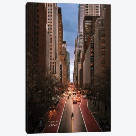 Evening In Midtown East Canvas Print #DWK57} by Dylan Walker Canvas Artwork