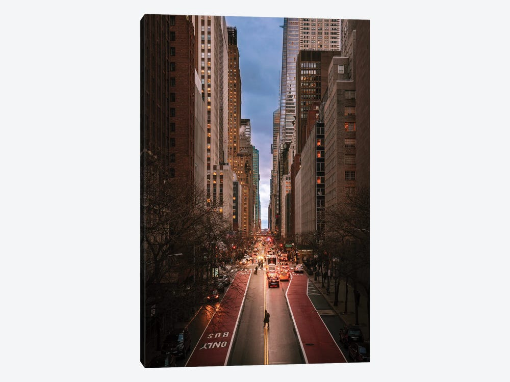 Evening In Midtown East by Dylan Walker 1-piece Canvas Wall Art