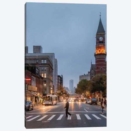 Evenings In Greenwich Village Canvas Print #DWK81} by Dylan Walker Canvas Art