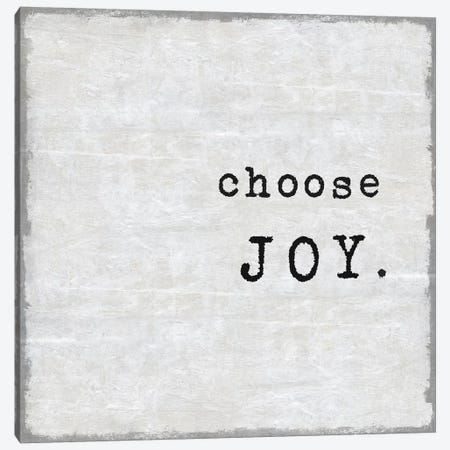 Choose Joy Canvas Print #DWL10} by Jamie MacDowell Canvas Art