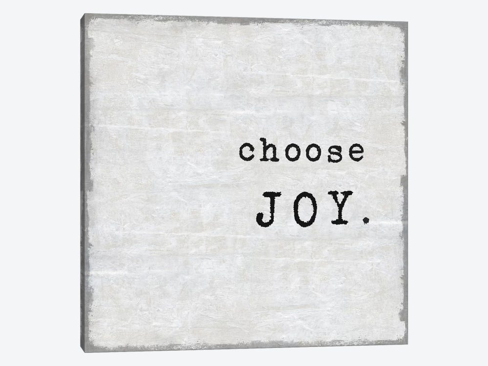 Choose Joy by Janie Macdowell 1-piece Canvas Wall Art