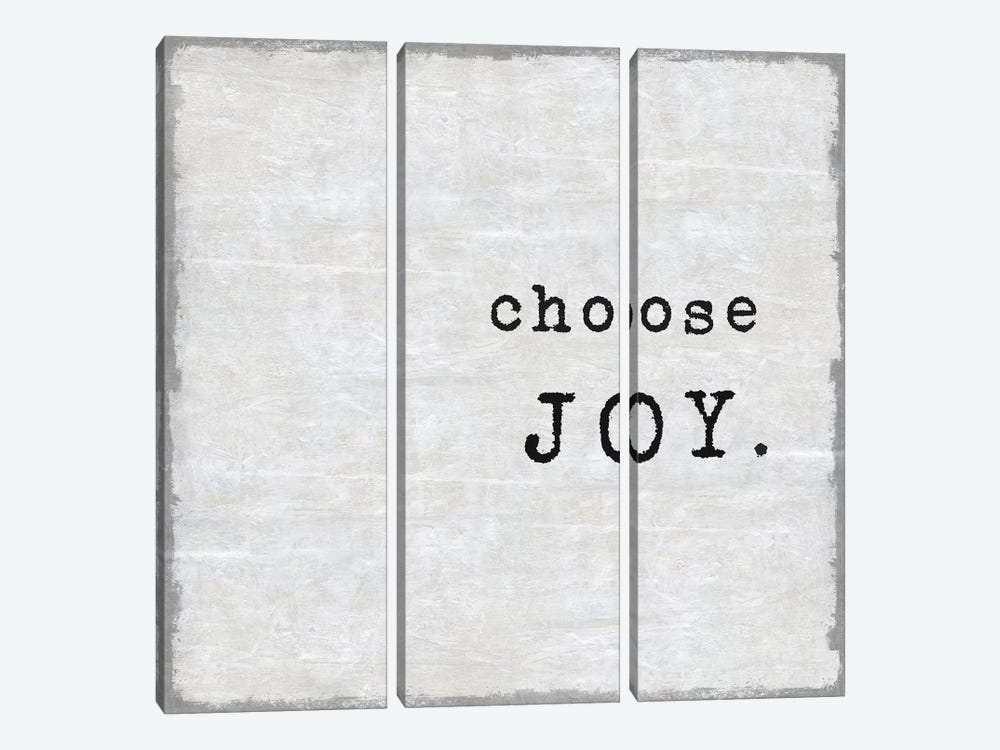 Choose Joy by Janie Macdowell 3-piece Canvas Art