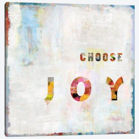 Choose Joy In Color Canvas Print #DWL11} by Jamie MacDowell Canvas Art