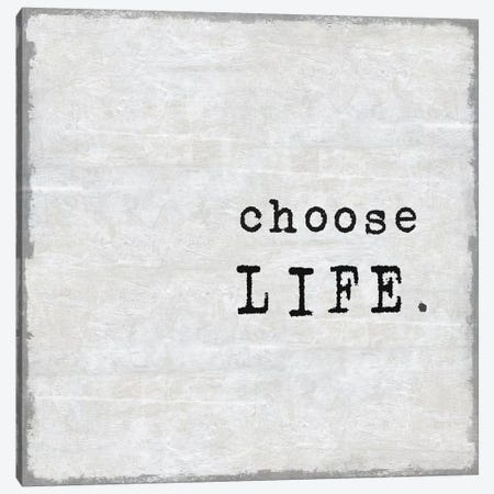 Choose Life Canvas Print #DWL12} by Jamie MacDowell Canvas Artwork