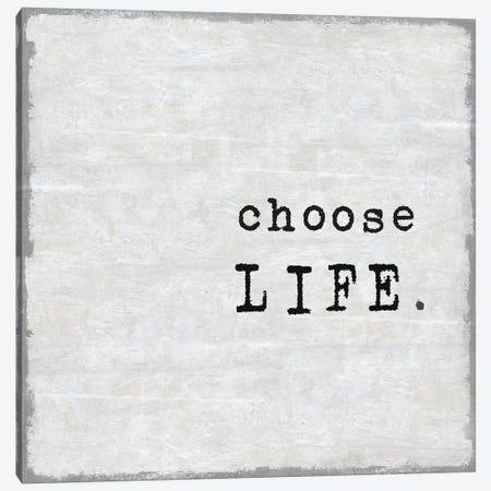 Choose Life Canvas Print #DWL12} by Jamie MacDowell Canvas Artwork