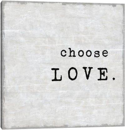 Choose Love Canvas Art Print