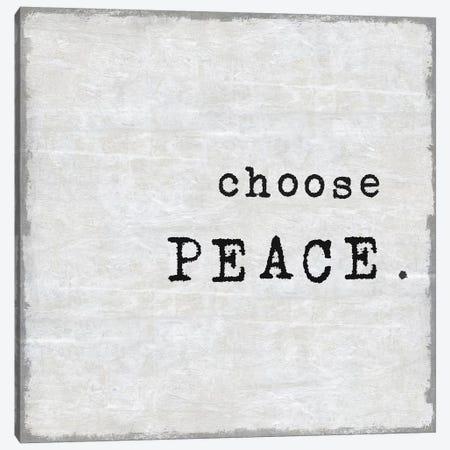 Choose Peace Canvas Print #DWL16} by Jamie MacDowell Art Print