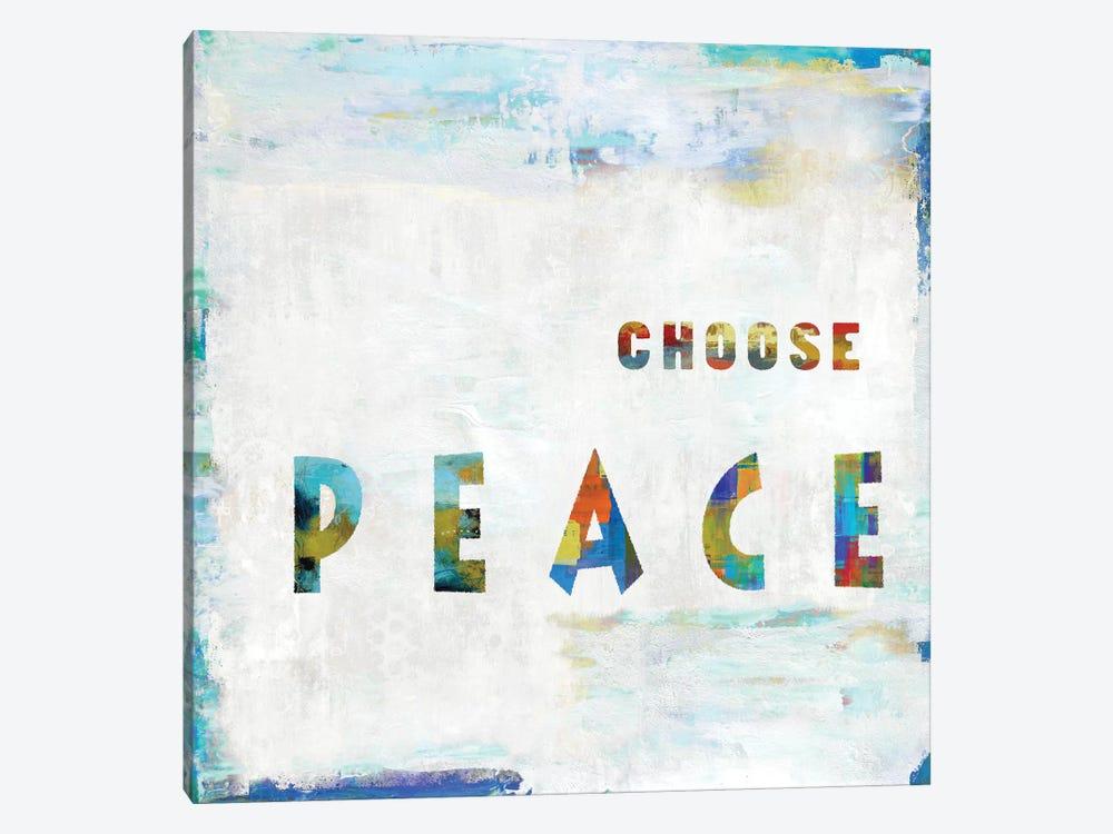 Choose Peace In Color by Jamie MacDowell 1-piece Art Print