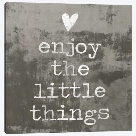 Enjoy The little things II Canvas Print #DWL19} by Jamie MacDowell Canvas Artwork