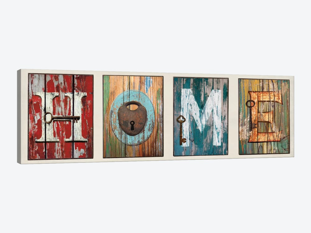 HOME by Jamie MacDowell 1-piece Canvas Art