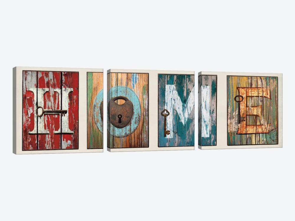 HOME by Jamie MacDowell 3-piece Canvas Artwork