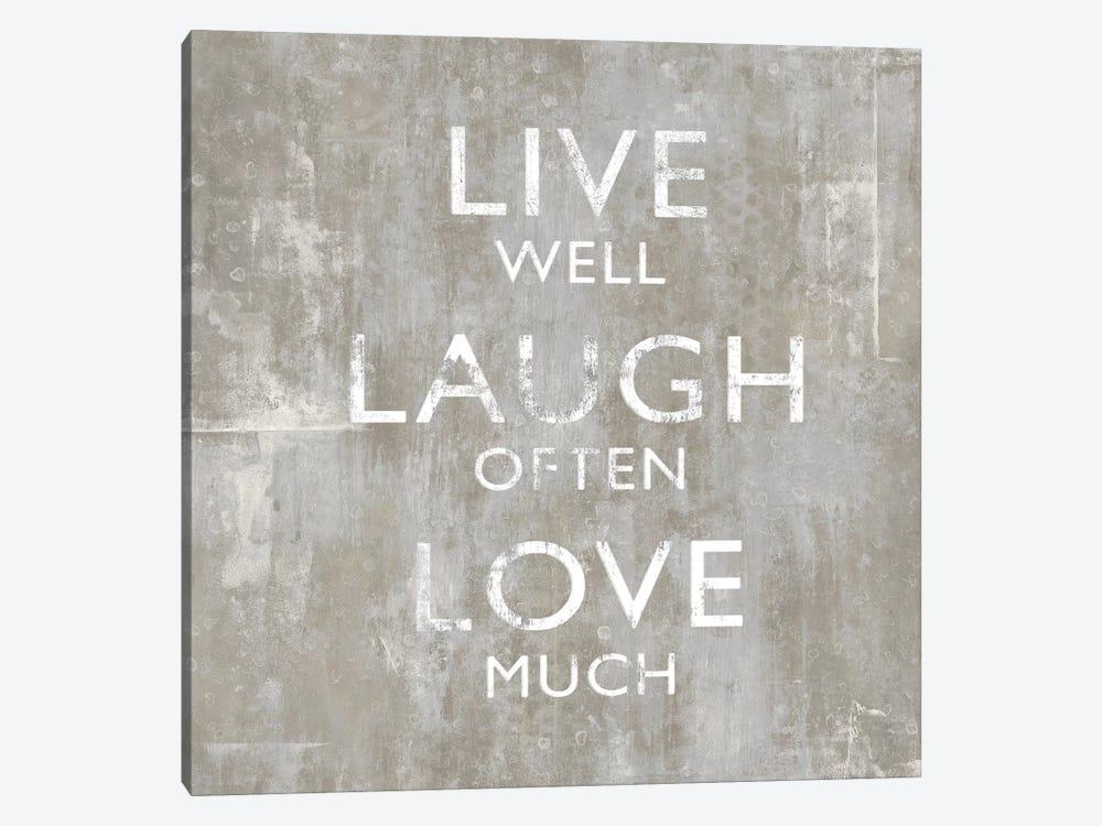 Live Well by Jamie MacDowell 1-piece Art Print