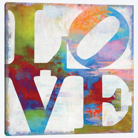 Love In Color Canvas Print #DWL23} by Janie Macdowell Canvas Print
