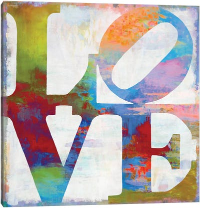 Love In Color Canvas Art Print