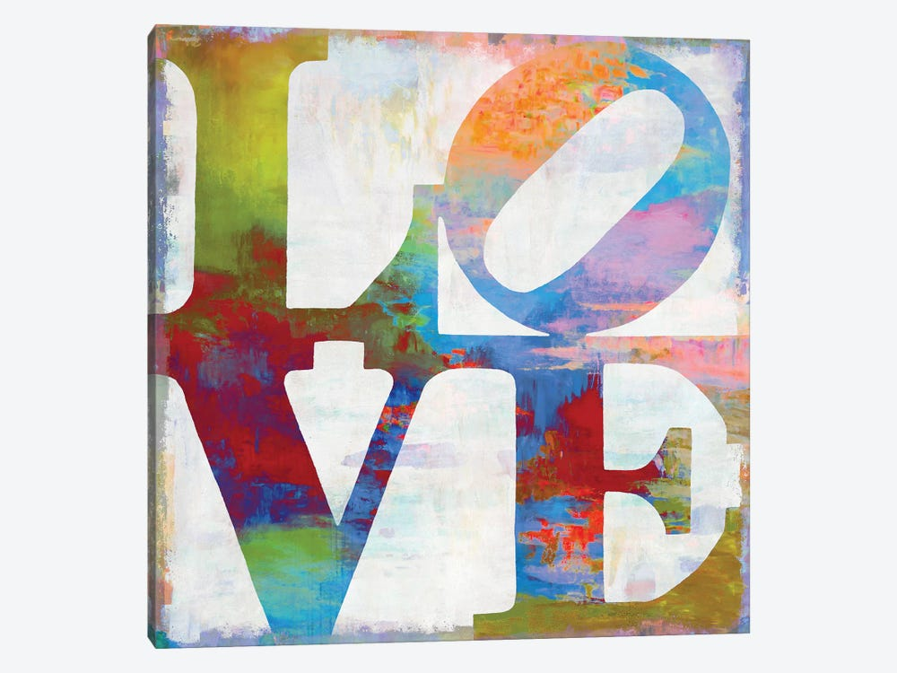 Love In Color by Janie Macdowell 1-piece Canvas Wall Art