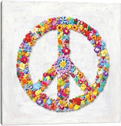 Peace Sign Canvas Art Print