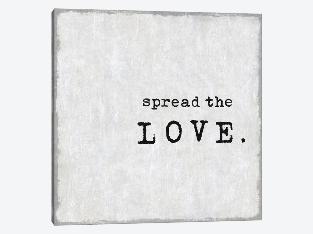 Spread The Love by Janie Macdowell 1-piece Art Print