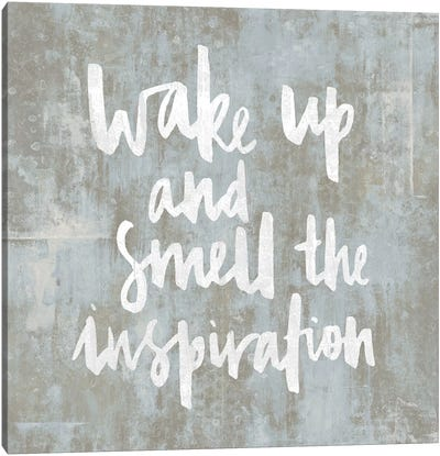 Wake Up Canvas Art Print