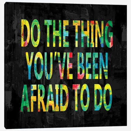 Do the Thing in Color Canvas Print #DWL39} by Jamie MacDowell Canvas Artwork