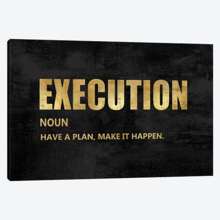 Execution in Gold Canvas Print #DWL40} by Jamie MacDowell Canvas Print