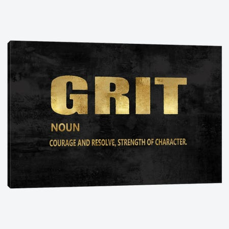 Grit in Gold Canvas Print #DWL42} by Jamie MacDowell Art Print