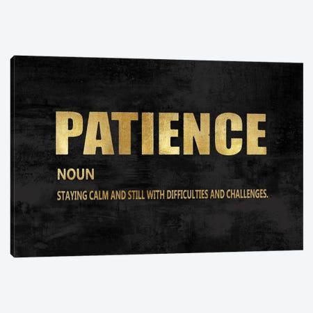 Patience in Gold Canvas Print #DWL49} by Jamie MacDowell Art Print