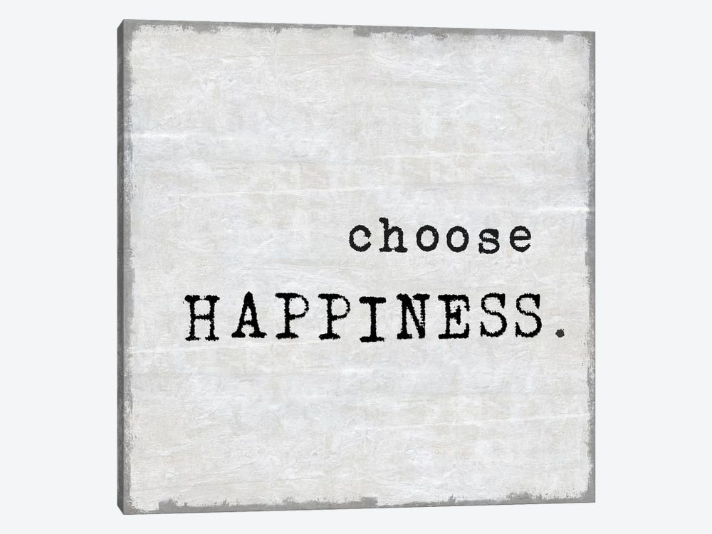 Choose Happiness by Janie Macdowell 1-piece Art Print