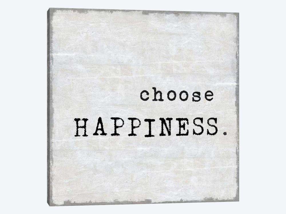 Choose Happiness by Jamie MacDowell 1-piece Art Print