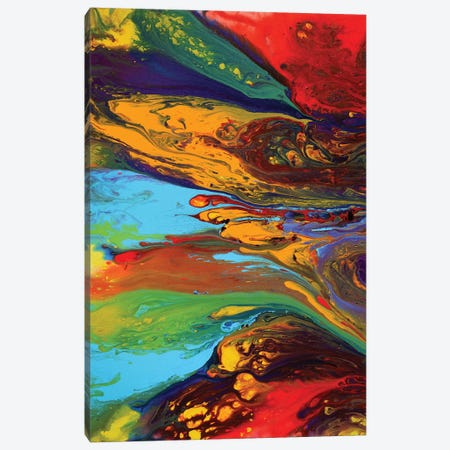 Abstract X Canvas Print #DWO12} by Destiny Womack Canvas Art Print