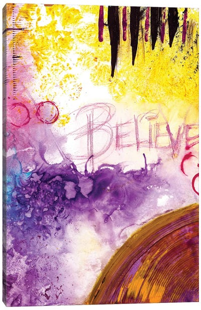 Believe Canvas Art Print