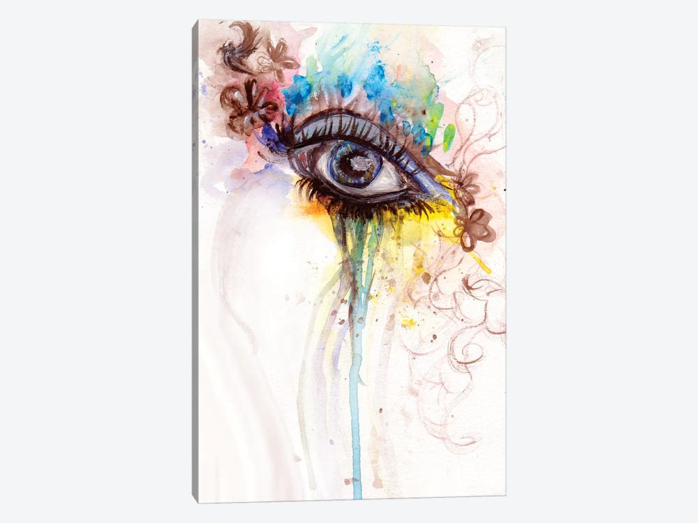 Eye by Destiny Womack 1-piece Canvas Art
