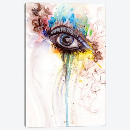 Eye Canvas Print #DWO36} by Destiny Womack Canvas Wall Art