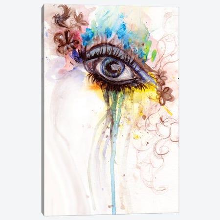 Eye Canvas Print #DWO36} by Destiny Womack Canvas Wall Art