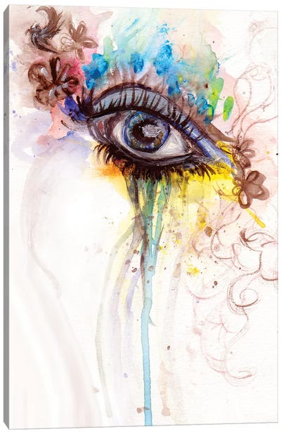 Eye Canvas Art Print
